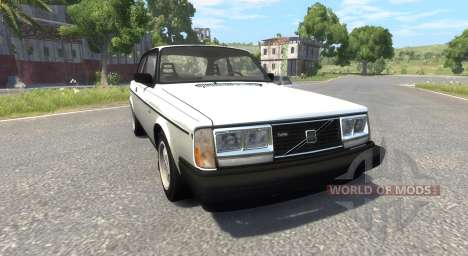 Volvo 242 Turbo Evolution for BeamNG Drive