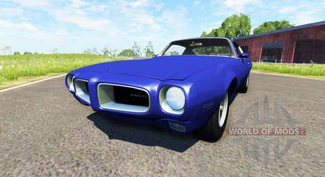 Pontiac Firebird 1970 for BeamNG Drive
