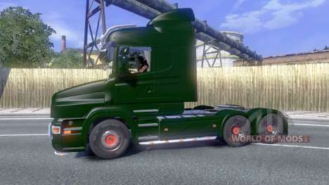 Scania T500 Mark 2 fully colorable for Euro Truck Simulator 2