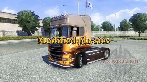 Modified physics [Final version] for Euro Truck Simulator 2