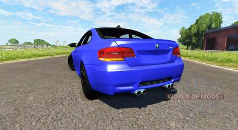 BMW M3 E92 2008 for BeamNG Drive