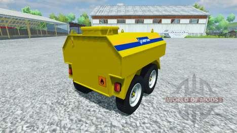 Trailer-tanker Chieftain for Farming Simulator 2013
