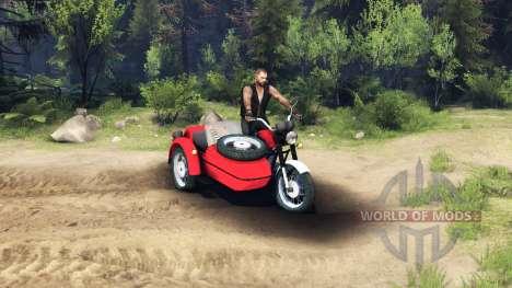IZH Planeta-5 for Spin Tires