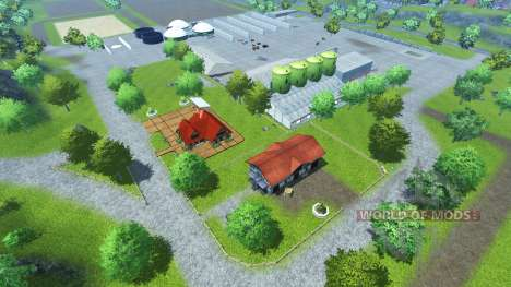 Bahlen Map for Farming Simulator 2013