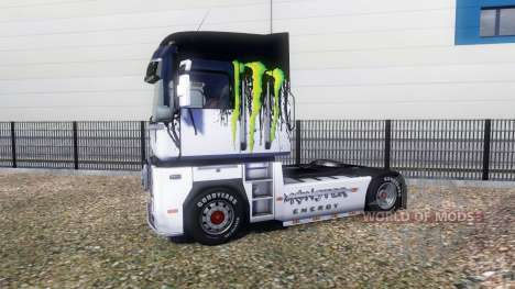 Color-Monster Energy - on a tractor unit Renault for Euro Truck Simulator 2