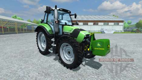 Contrast John Deere v1.1 for Farming Simulator 2013