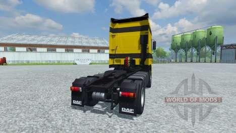 DAF XF 105 for Farming Simulator 2013