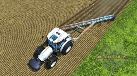 The plough PLN-9-35 for Farming Simulator 2013