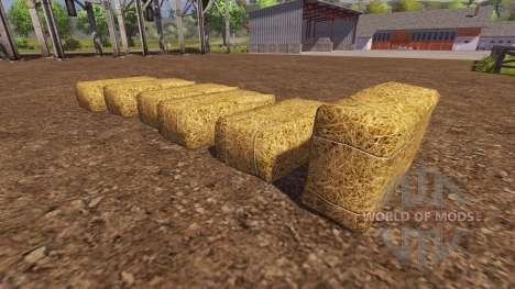 Buying bales for Farming Simulator 2013