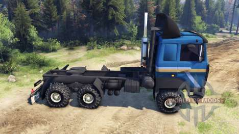 MAZ-642205 for Spin Tires
