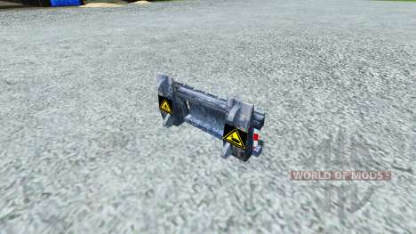 Device for capturing Reaper for Farming Simulator 2013