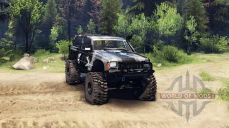 Jeep Cherokee XJ v1.3 Camo for Spin Tires