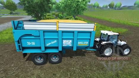 Trailer Rolland 20-30 for Farming Simulator 2013