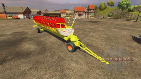 Reaper CLAAS 900 Vario 2008 for Farming Simulator 2013
