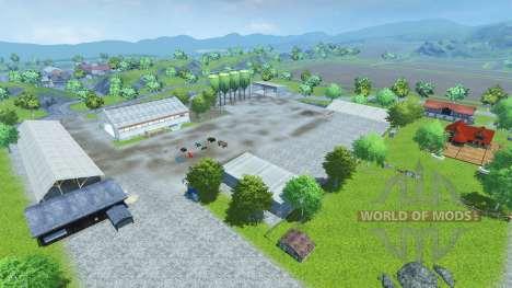 Drebbermap for Farming Simulator 2013