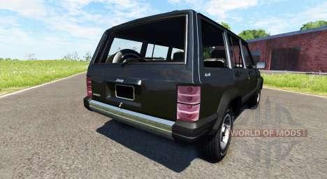 Jeep Cherokee 1984 for BeamNG Drive