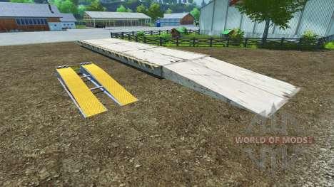 Loading area for Farming Simulator 2013
