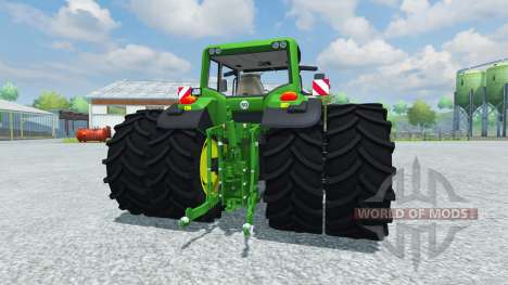 John Deere 7530 Premium v2.0 for Farming Simulator 2013
