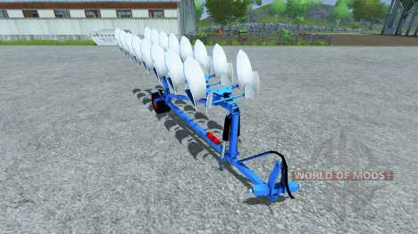Плуг Lemken EuroDiamant for Farming Simulator 2013