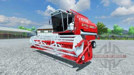 Bizon Z 110 red for Farming Simulator 2013