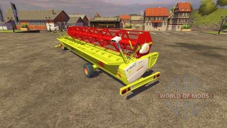 Reaper CLAAS 900 Vario 2008 for Farming Simulator 2013