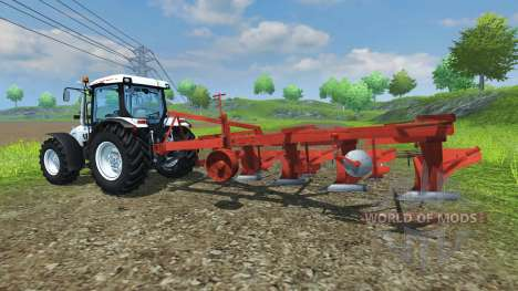 The plough PLN-5-35 for Farming Simulator 2013