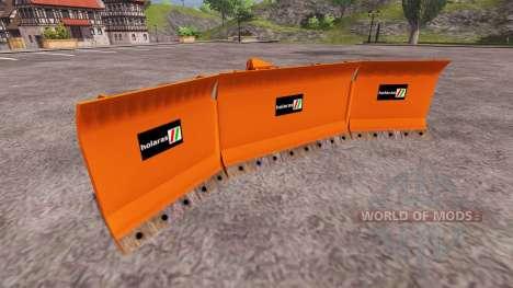 U-shaped blade Holaras for Farming Simulator 2013