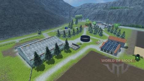 Small farm for Farming Simulator 2013
