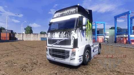 Color-Monster Energy - truck Volvo for Euro Truck Simulator 2
