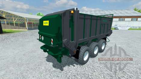 Trailer Tebbe HS 320 for Farming Simulator 2013