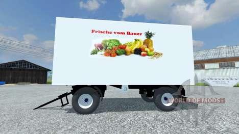 Trailer Koffer for Farming Simulator 2013