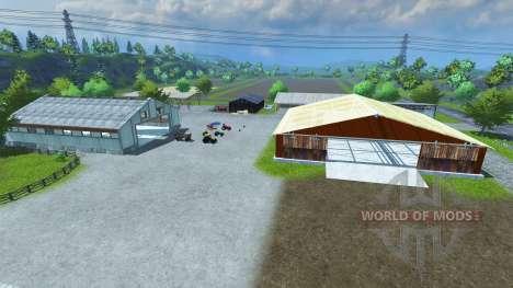 Sample Mod Map for Farming Simulator 2013