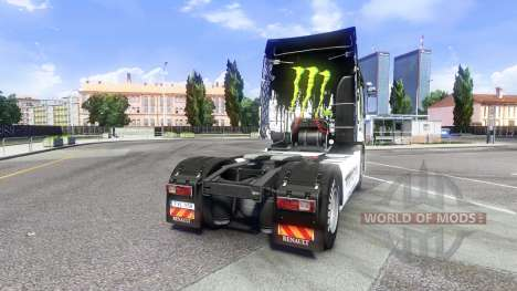 Color-Monster Energy - for Renault Premium tract for Euro Truck Simulator 2