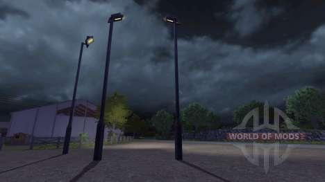 Lamppost for Farming Simulator 2013