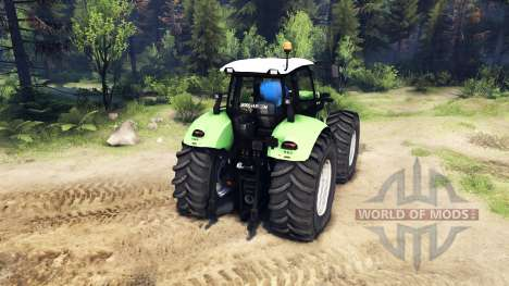 Deutz-Fahr Agrotron X 720 for Spin Tires