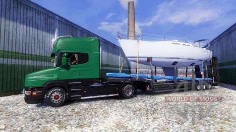 Scania T500 Mark 2 black parts for Euro Truck Simulator 2