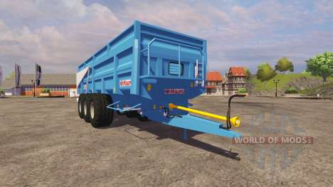 Trailer Maupu BM 23 2013 for Farming Simulator 2013
