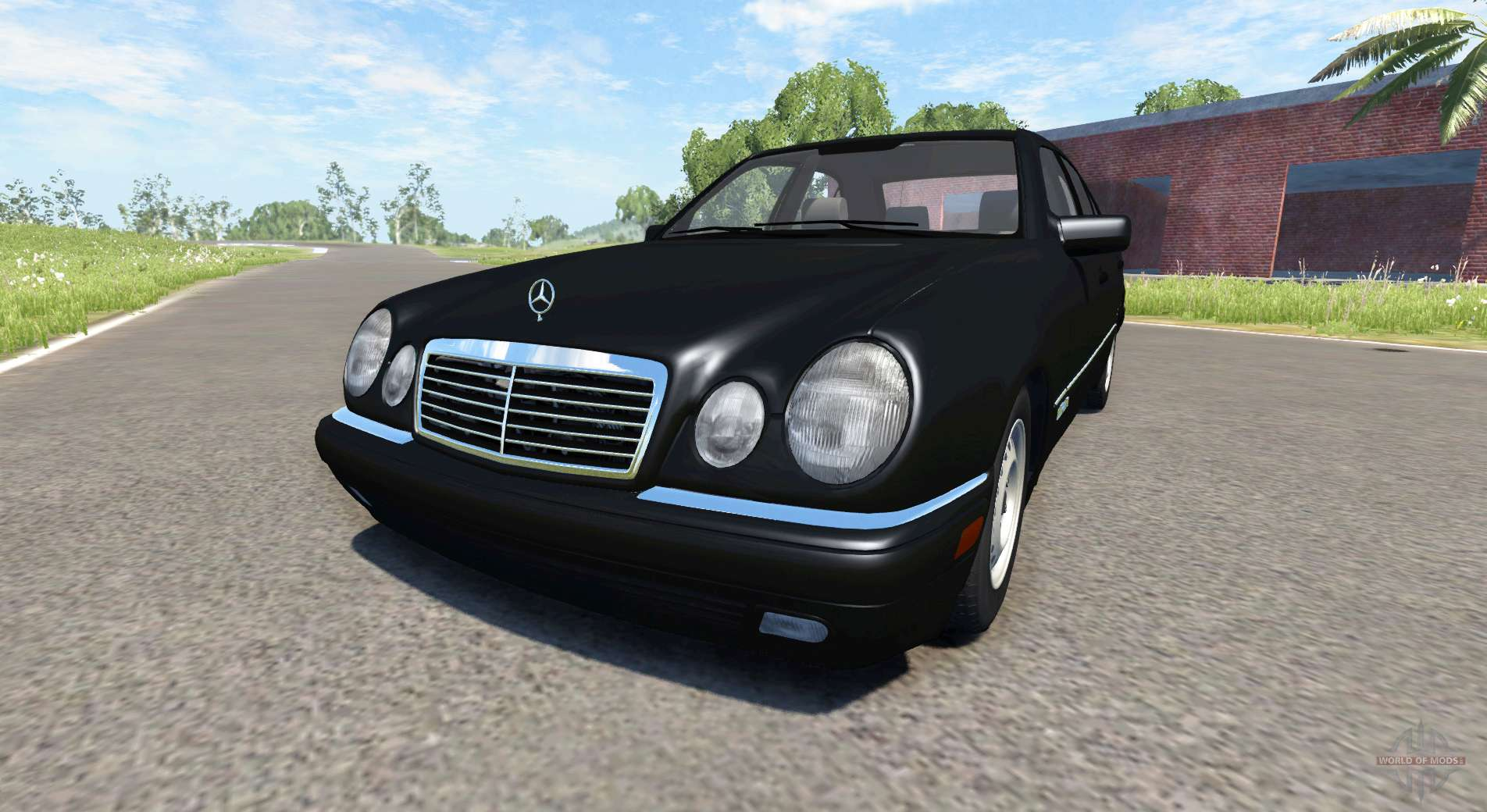 Mercedes benz e420 w124 stock for beamng drive for Mercedes benz stock