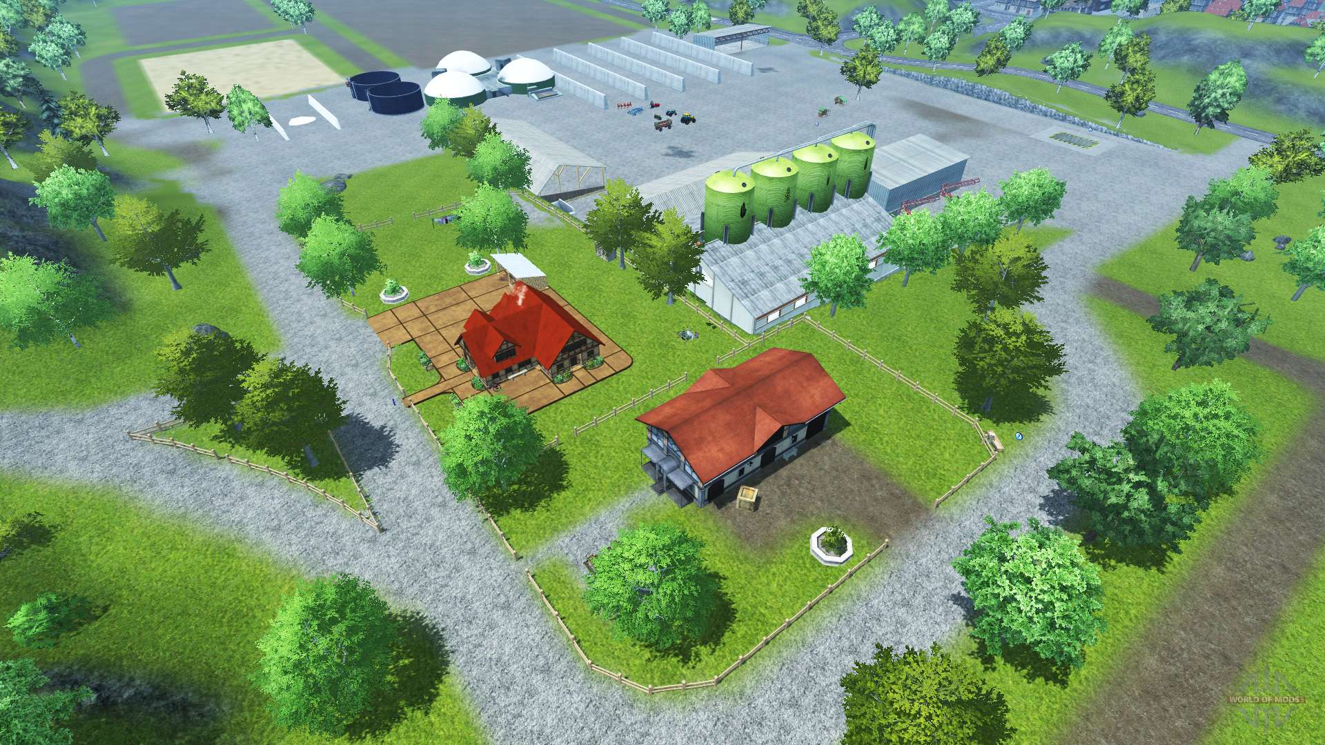 Bahlen Map For Farming Simulator 2013