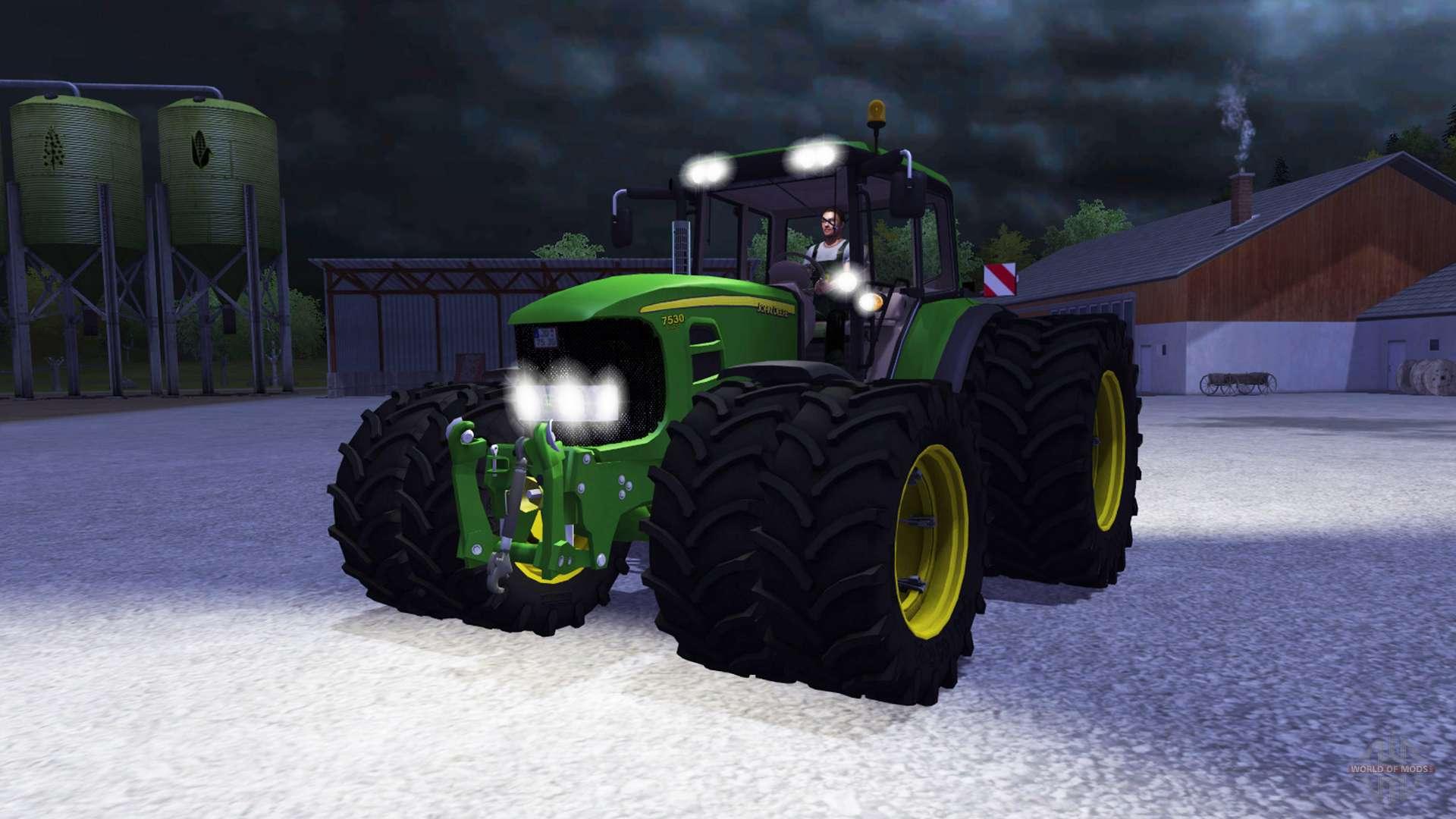 John deere 7530 premium v2 0 for farming simulator 2013