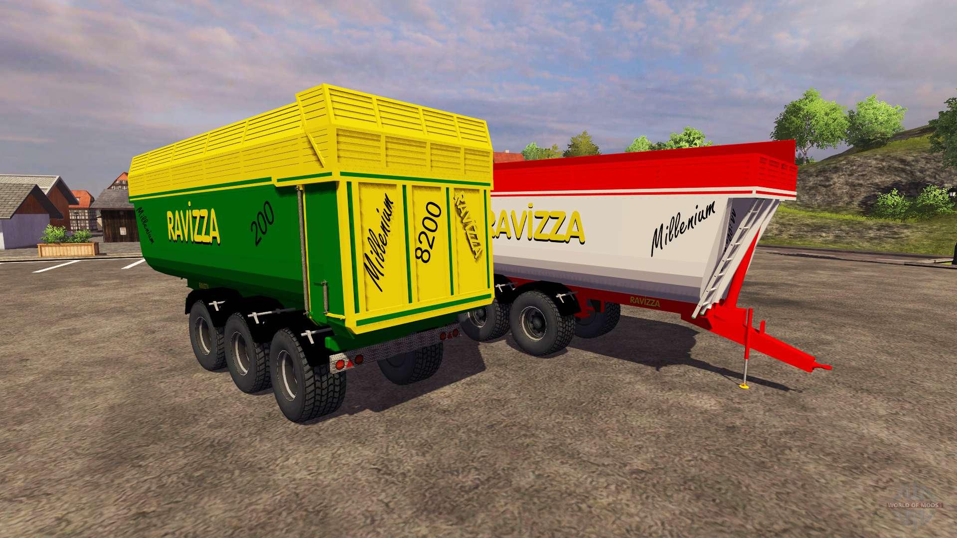 Trailers ravizza millenium 8200 for farming simulator 2013 for Ravizza rimorchi