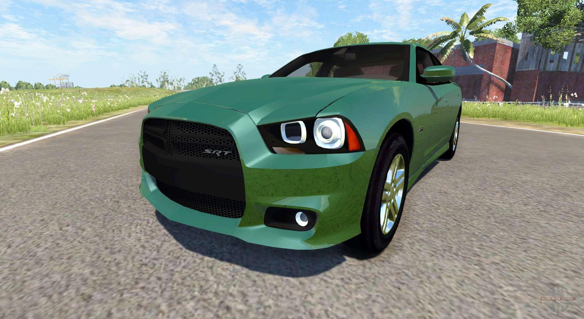 Dodge Charger Srt8 V2 0 For Beamng Drive