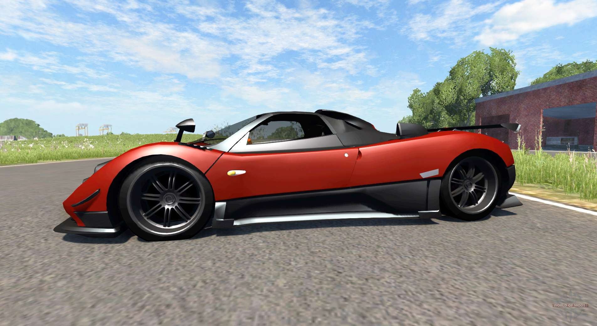 Zonda cinque roadster 2009 for beamng drive pagani zonda cinque roadster 2009 for beamng drive vanachro Image collections
