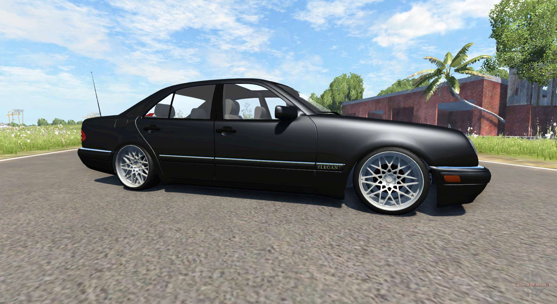 Mercedes benz e420 w124 tuning for beamng drive for Mercedes benz tuning