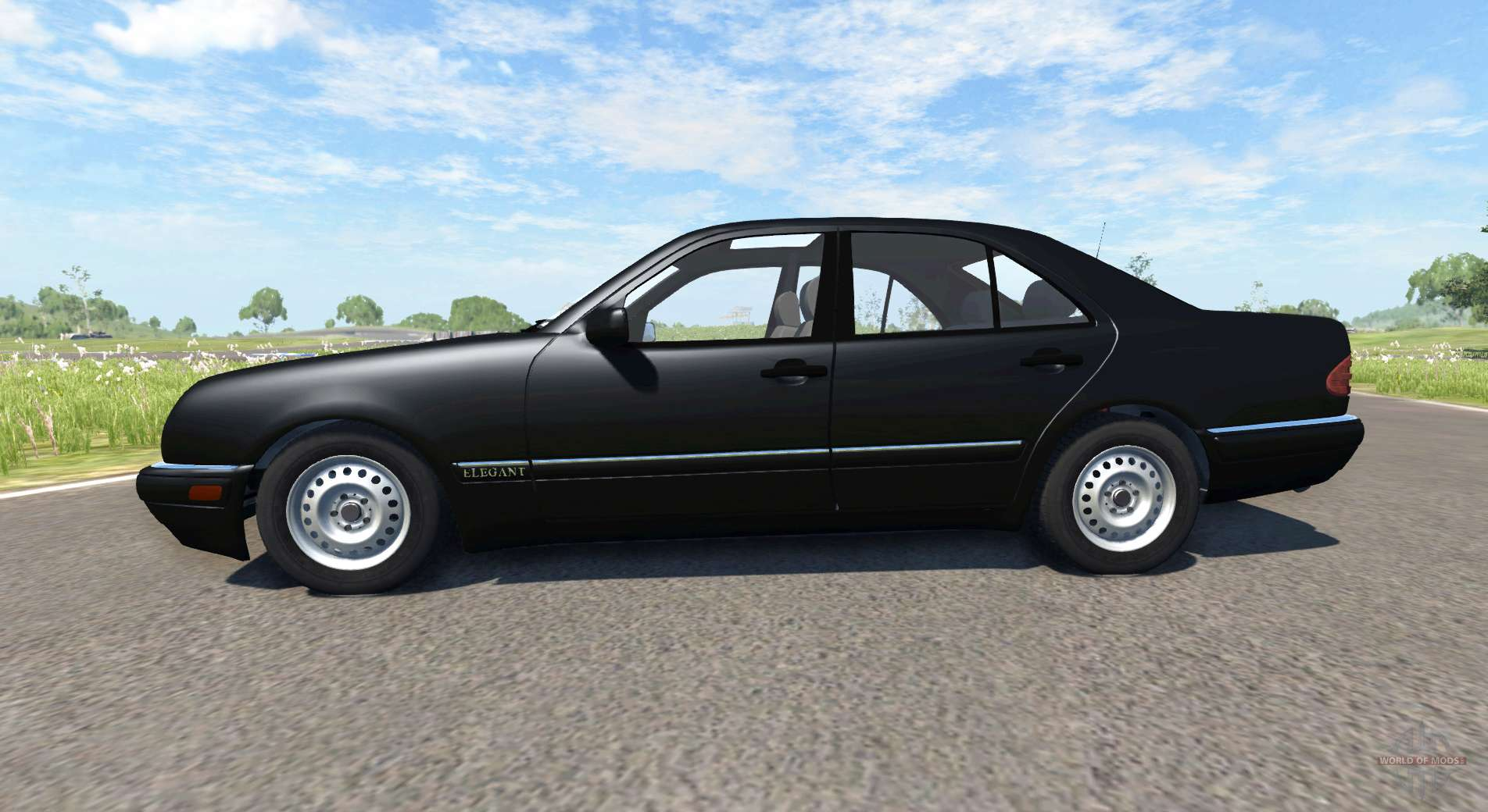 Mercedes Benz E420 W124 Stock For Beamng Drive