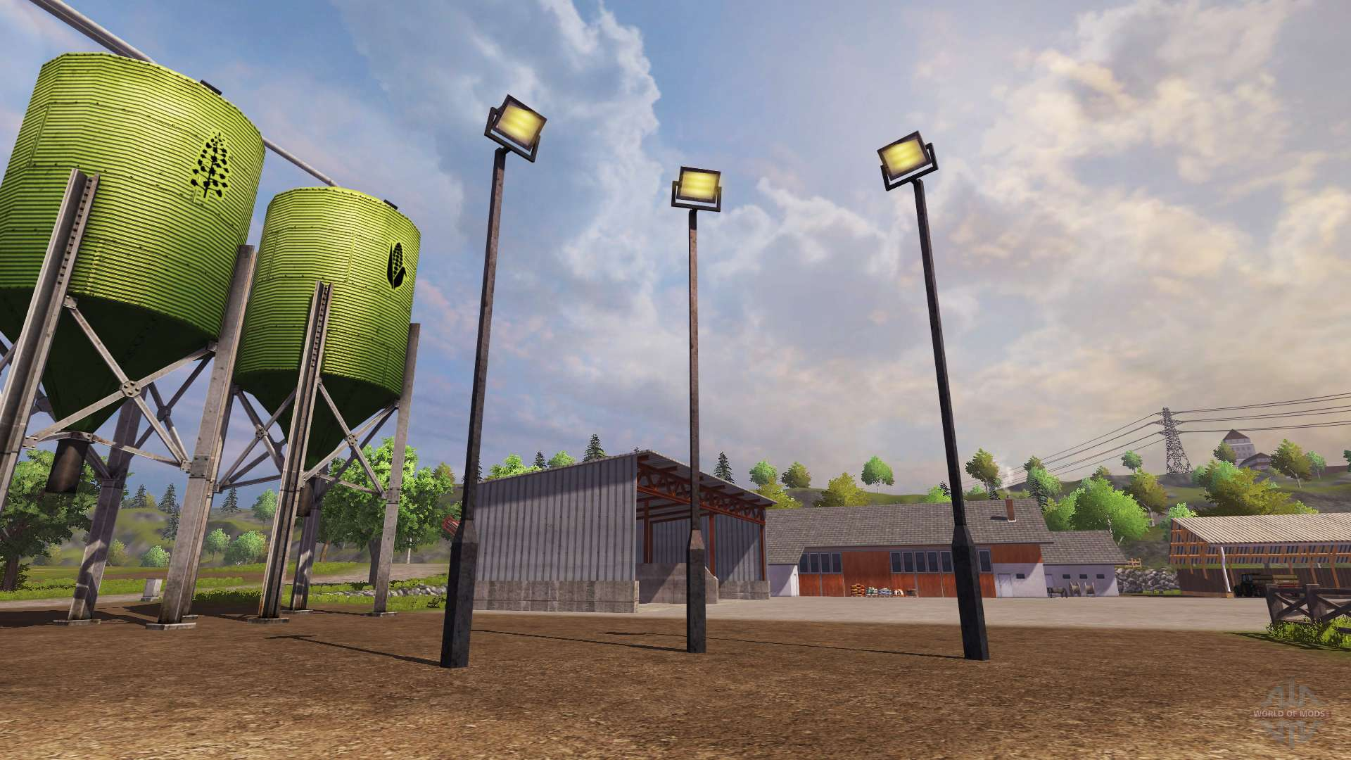 lamppost for farming simulator 2013
