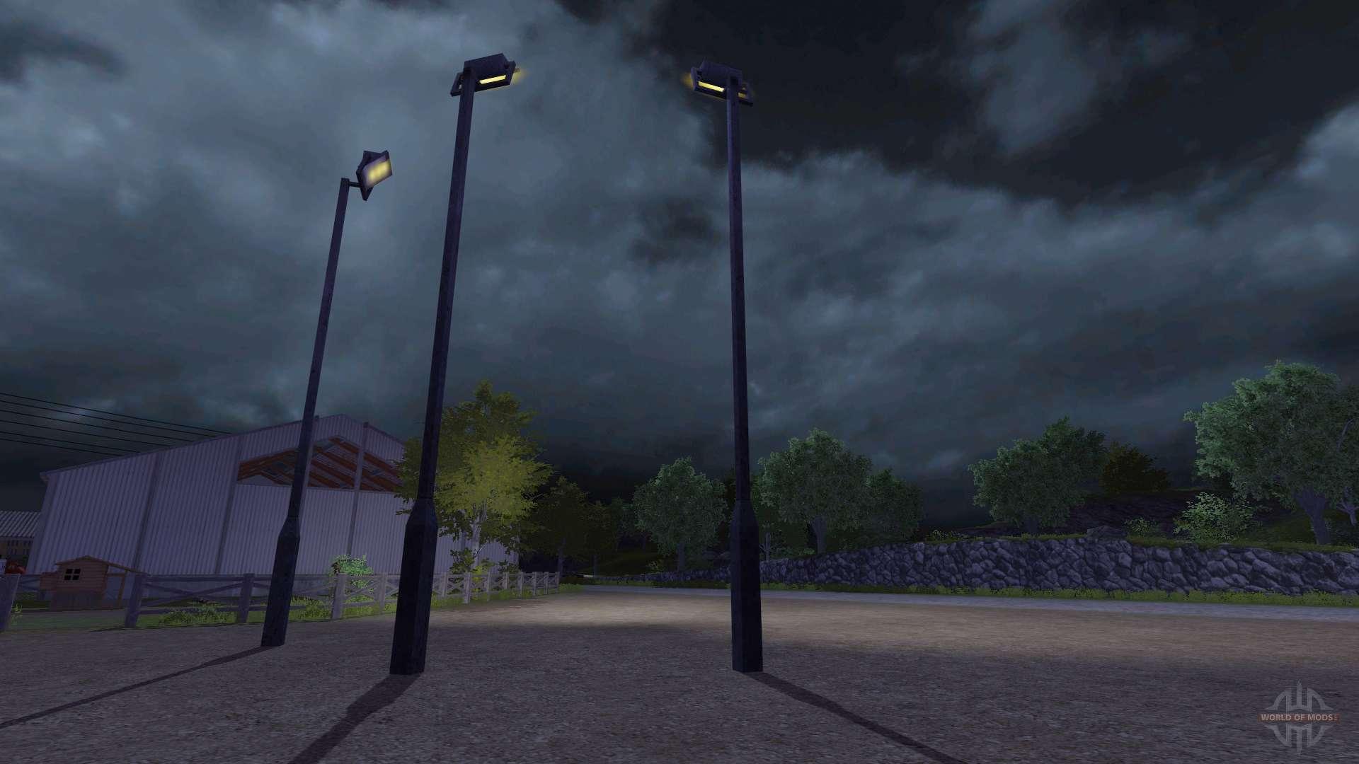 lamppost for farming simulator 2013 - Lampadaire Minecraft