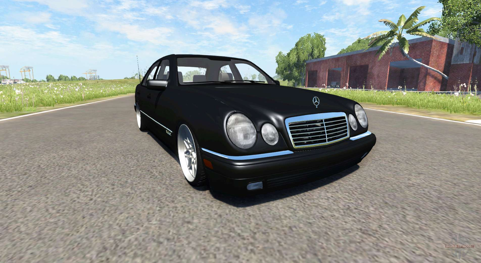 mercedes benz e420 w124 tuning for beamng drive. Black Bedroom Furniture Sets. Home Design Ideas