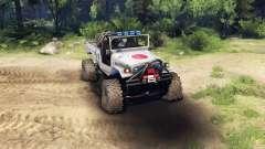 Toyota FJ40 Zero for Spin Tires