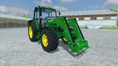 John Deere 6506 FL v2.5 for Farming Simulator 2013